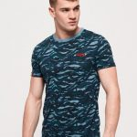 Superdry Blue Grit Camo