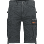 Superdry Cargo Short Black